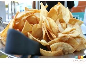 SOHO TACO Gourmet Taco Catering - Los Angeles - Tortilla Chips