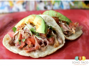SOHO TACO Gourmet Taco Truck - El Taco Salpicón - Orange County - OC