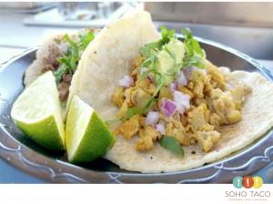 SOHO TACO Gourmet Taco Catering - Alfredos Beach Club - Belmont Shores - Long Beach - Pollo Asado