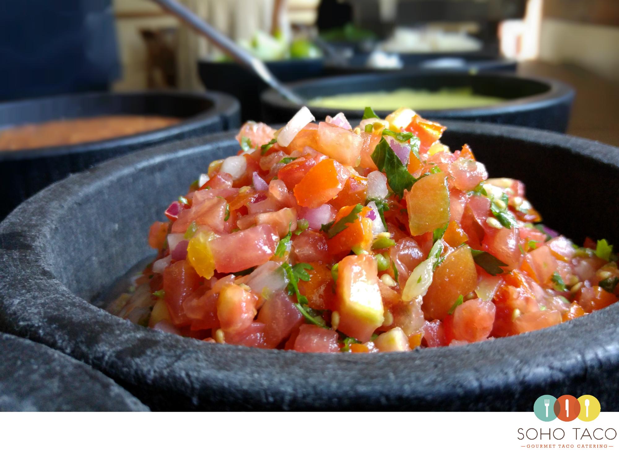SOHO TACO Gourmet Taco Catering - Earl Warren Showgrounds - Santa Barbara - Pico De Gallo