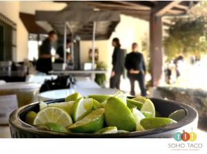SOHO TACO Gourmet Taco Catering - Goleta - Limes - Santa Barbara