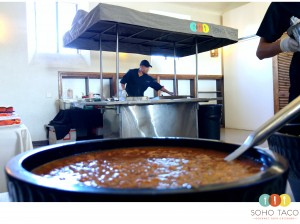 SOHO TACO Gourmet Taco Catering - Los Angeles - Wedding - Center For The Arts - Salsa Roja