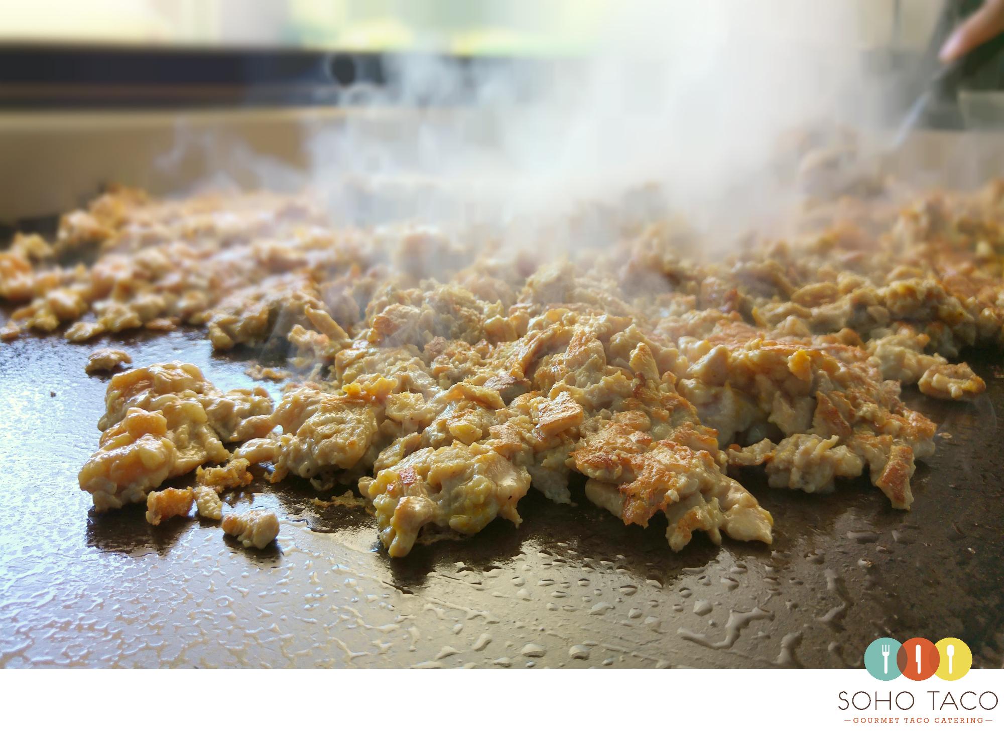 SOHO TACO Gourmet Taco Catering - Montecito - Santa Barbara - Pollo Asado - Grilling