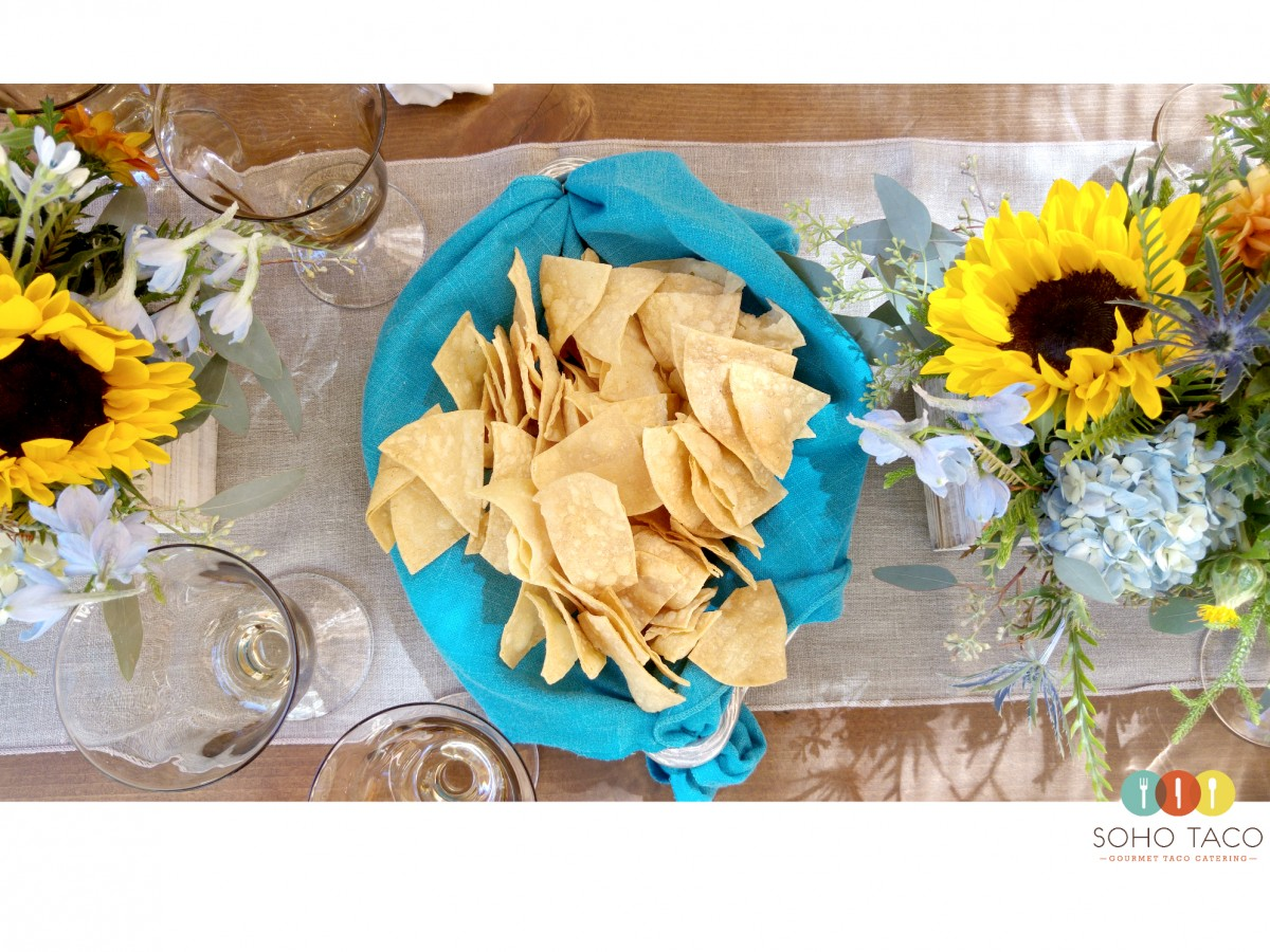 SOHO TACO Gourmet Taco Catering - Montecito - Tortilla Chips