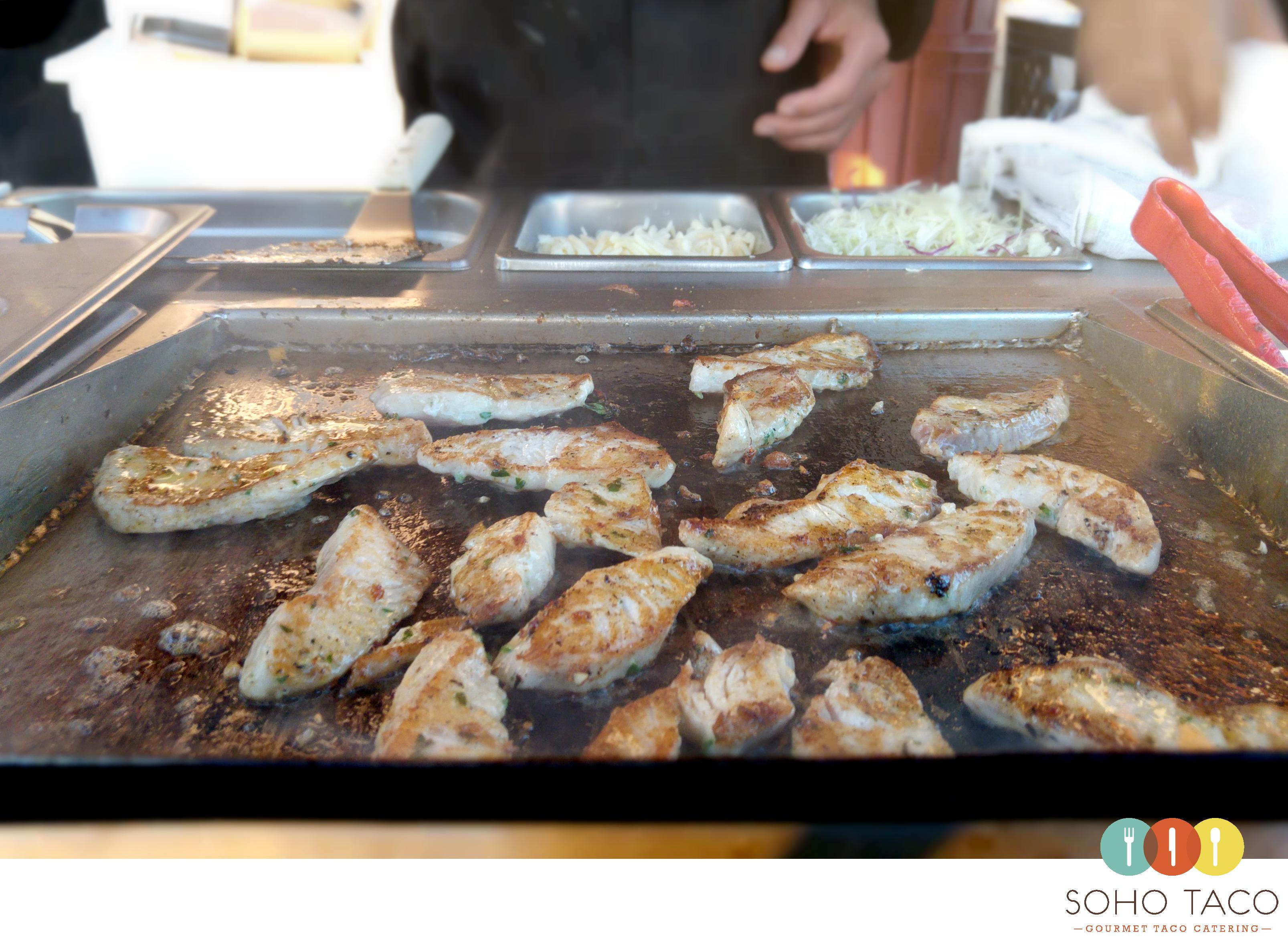 SOHO TACO Gourmet Taco Catering - Sunset Beach - Wedding - Mahi Mahi - Orange County - OC