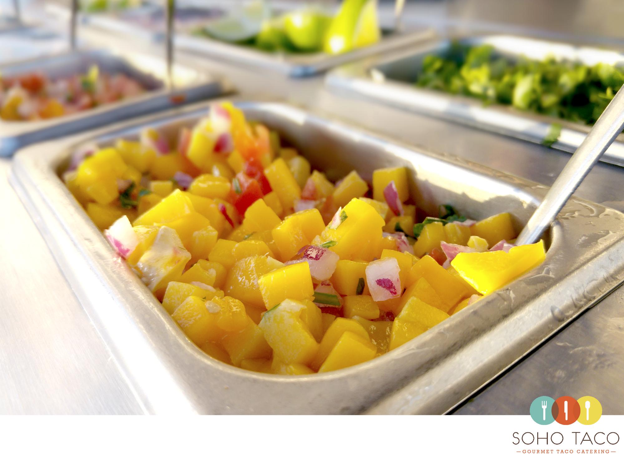 SOHO TACO Gourmet Taco Catering - Wedding - Sunset Beach - Mango Salsa - Orange County - OC