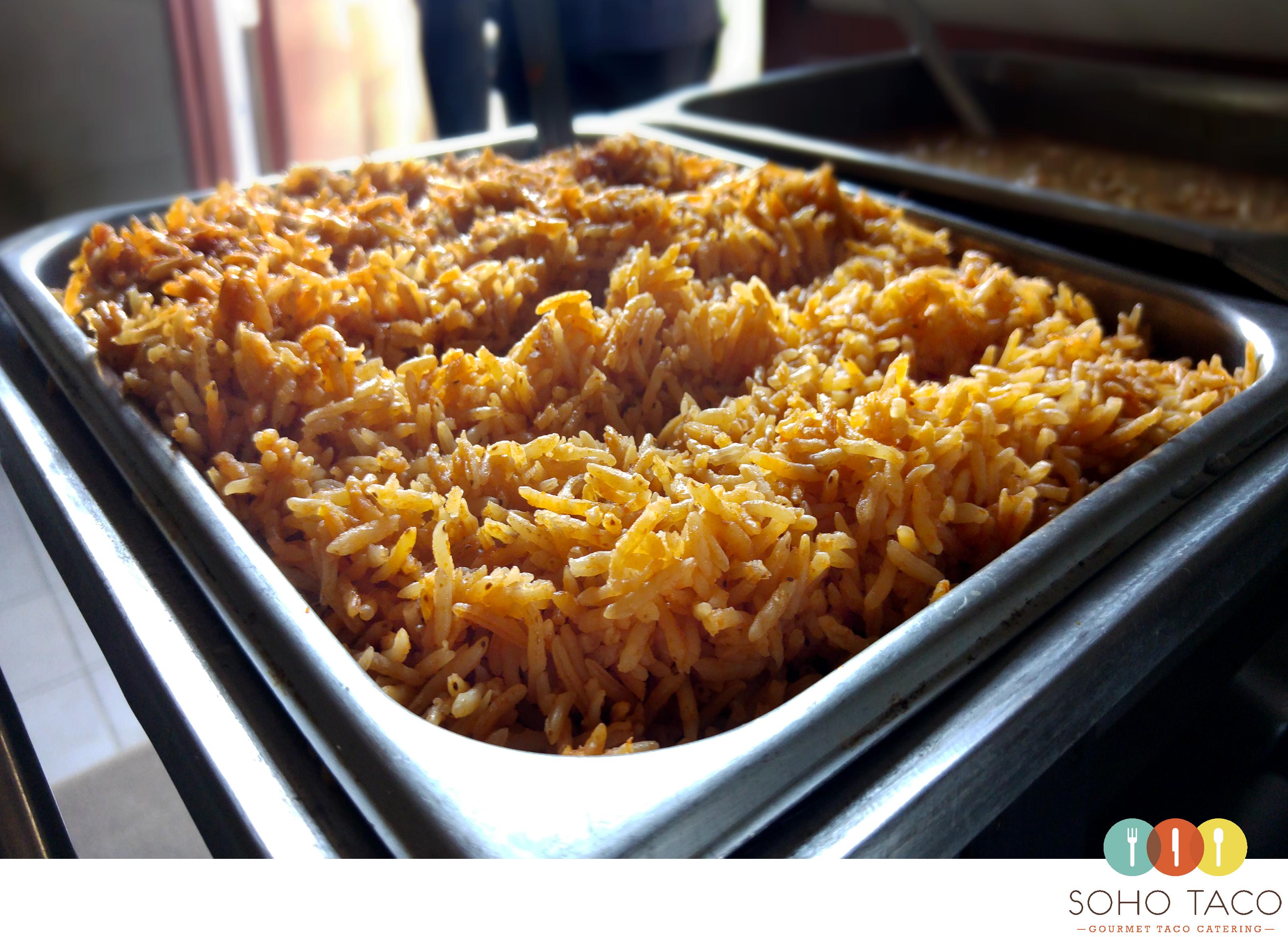 SOHO TACO Gourmet Taco Catering - Earl Warren Showgrounds - Santa Barbara - Spanish Rice