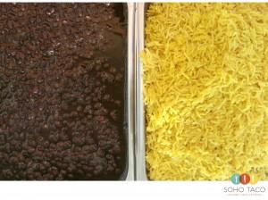 SOHO TACO Gourmet Taco Catering - Montecito - Santa Barbara - Black Beans - Lemon Rice