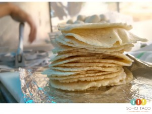 SOHO TACO Gourmet Taco Catering - Montecito - Santa Barbara - Tortillas