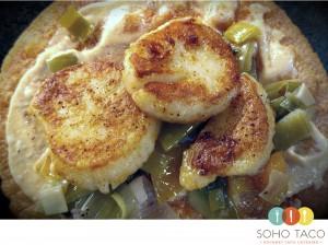 SOHO TACO Gourmet Taco Catering - El Tampiqueño - September Special - Scallops