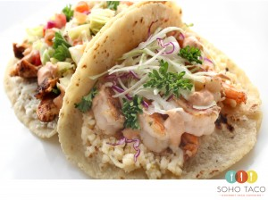 SOHO TACO Gourmet Taco Truck - Camarones - Shrimp Tacos - Orange County - OC