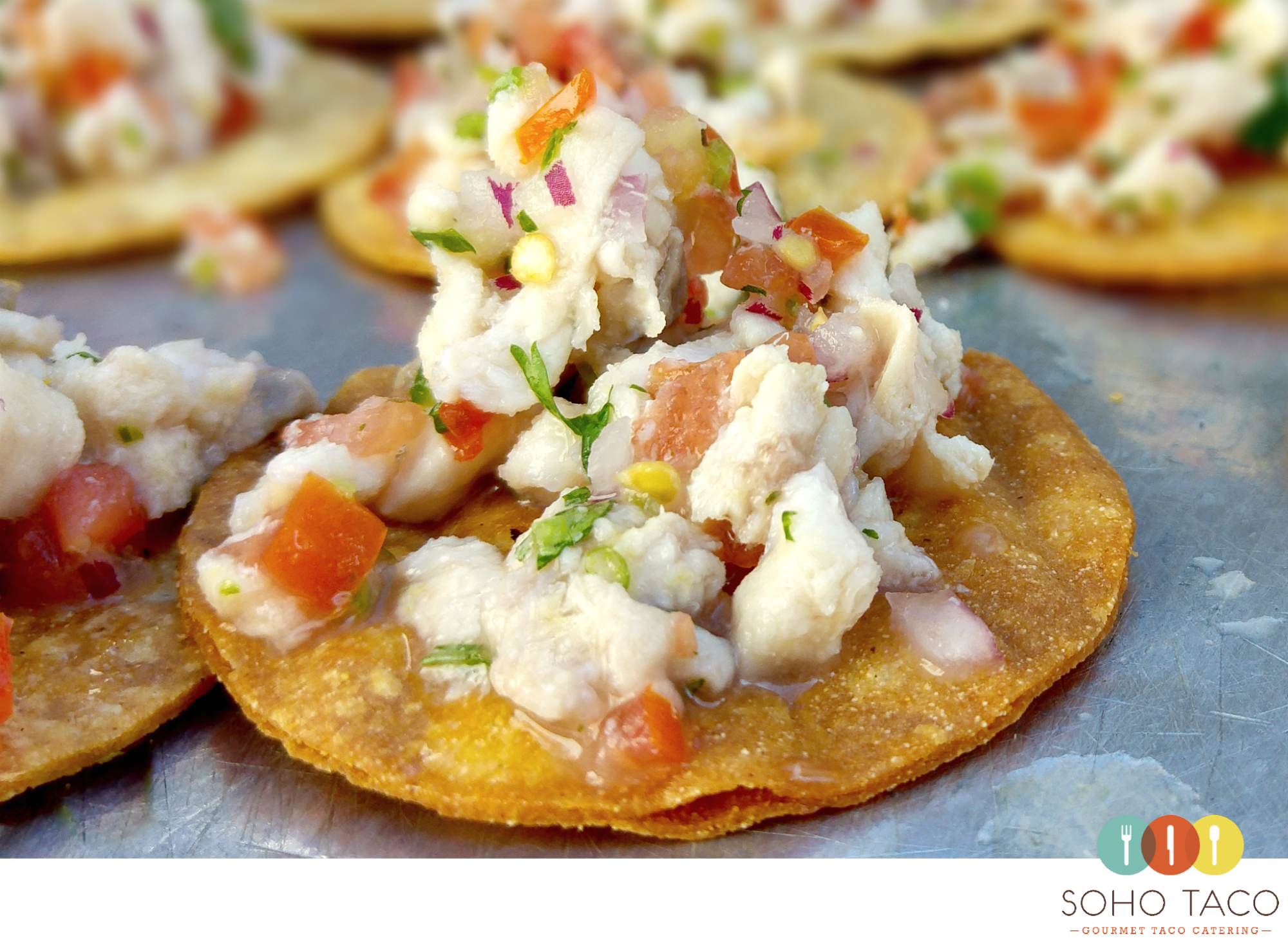 SOHO TACO Gourmet Taco Catering - Rancho Buena Vista Adobe - Wedding - Ceviche - Appetizers