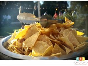 SOHO TACO Gourmet Taco Catering - Rancho Buena Vista Adobe - Vista CA - Tortilla Chips