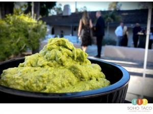 SOHO TACO Gourmet Taco Catering - Rancho Vista Adobe - Vista - San Diego County - Guacamole