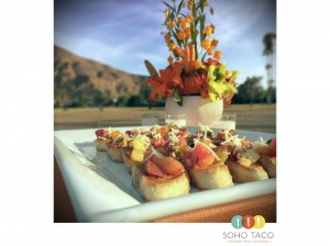 SOHO TACO Gourmet Taco Catering - Rebanadas de Tomates Heirloom - Palm Springs