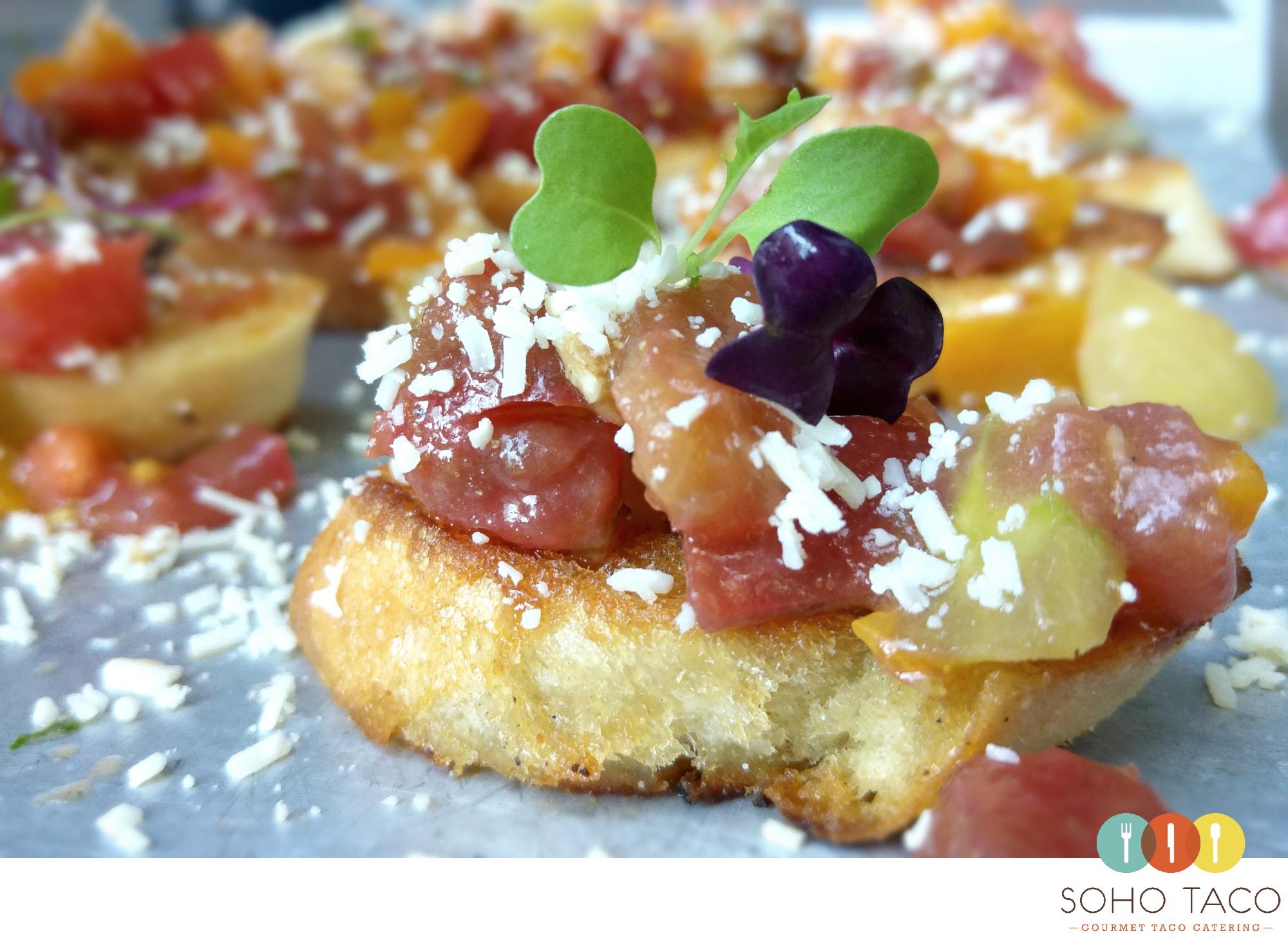 SOHO TACO Gourmet Taco Catering - Santa Ynez - Wedding - Brander Vineyard - Rebanadas de Tomates