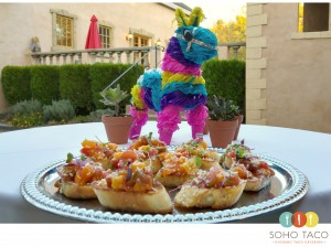 SOHO TACO Gourmet Taco Catering - Weddings - Brander Vineyard - Santa Ynez - Appetizer Plate