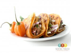 SOHO TACO Gourmet Taco Catering - El Crocante - Orange County - OC - December Special
