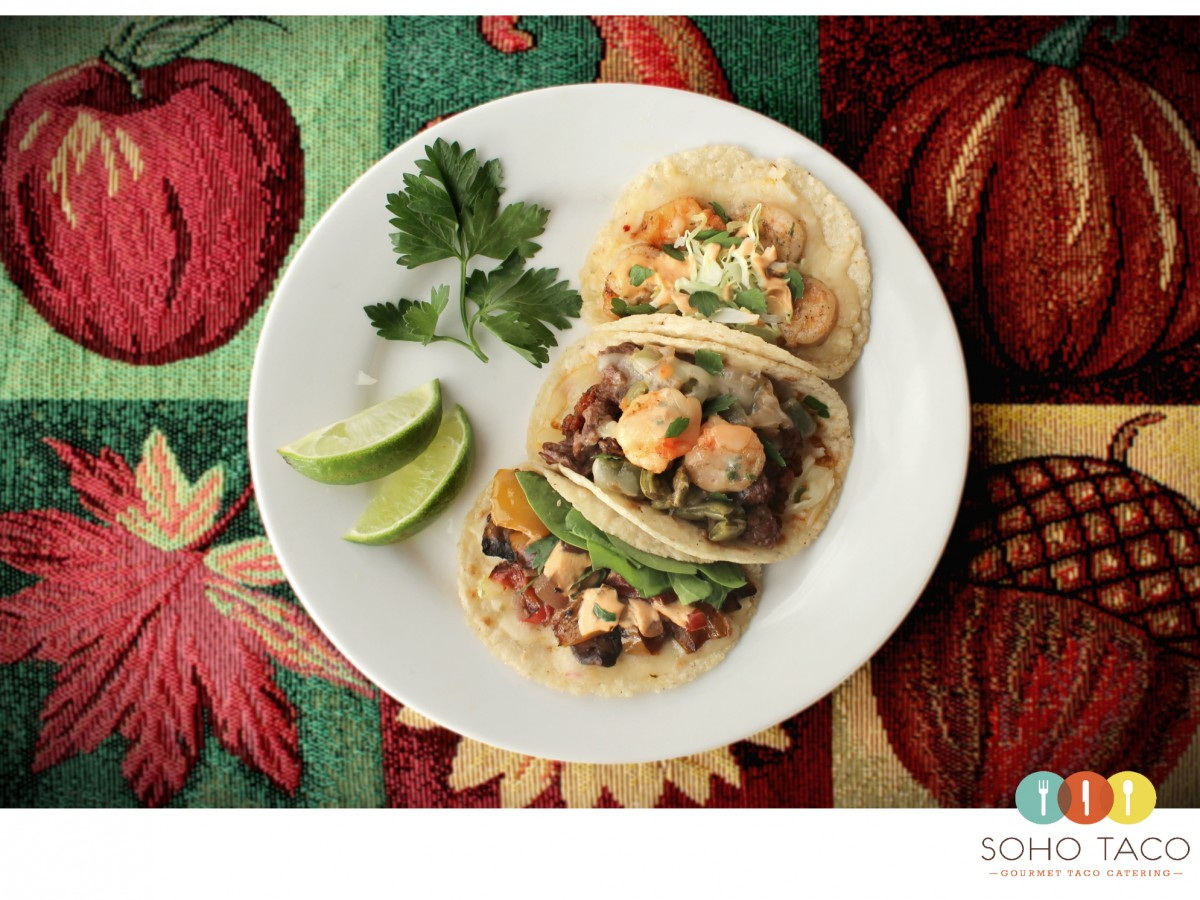 SOHO TACO Gourmet Taco Catering - Food Truck - Los Angeles - Orange County - Thanksgiving