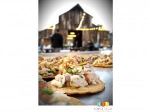 SOHO TACO Gourmet Taco Catering - Greengate Vineyard Farms - Edna Valley - San Luis Obispo