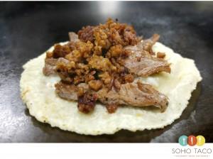 SOHO TACO Gourmet Taco Catering - Orange County - OC - El Mestizo - Chorizo