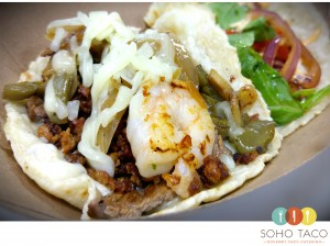 SOHO TACO Gourmet Taco Catering - Orange County - OC - El Taco Mestizo - November Special