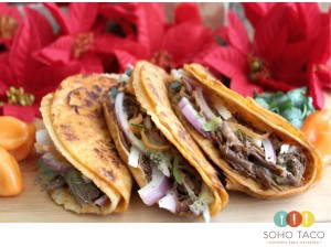 SOHO TACO Gourmet Taco Catering - El Crocante - Orange County - OC