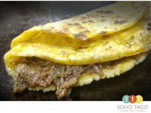 SOHO TACO Gourmet Taco Catering Truck - El Crocante - Orange County - OC