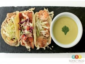 SOHO TACO Gourmet Taco Catering - Los Angeles - DTLA - LA - Mahi Mahi - Calamari - Camarones