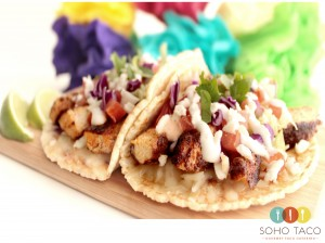 SOHO TACO Gourmet Taco Catering - Orange County - Blackened Pechuga - OC
