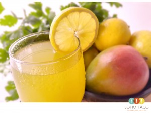 SOHO TACO Gourmet Taco Catering - Lemon Mango Agua Fresca - OC Fair - Costa Mesa - Orange County OC