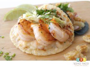 SOHO TACO Gourmet Taco Catering - Camarones Taco - Orange County OC