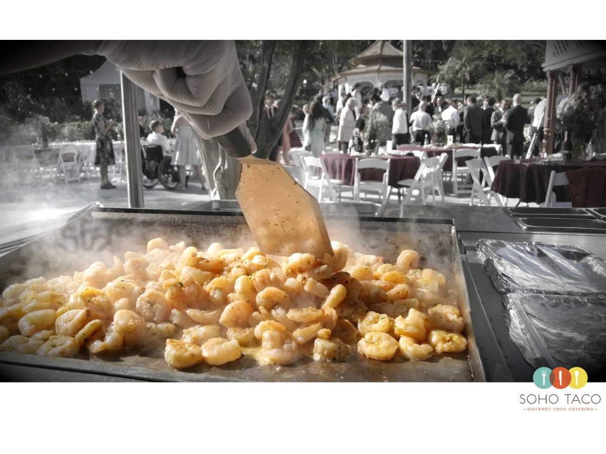 SOHO TACO Gourmet Taco Catering - Camarones - Wedding - Newhall Mansion - Ventura County