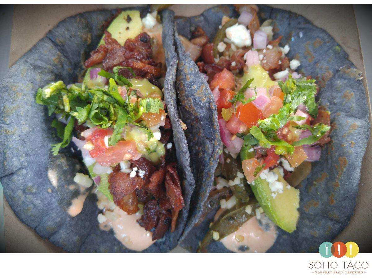 SOHO TACO Gourmet Taco Catering - May Special - El Taco Emperador