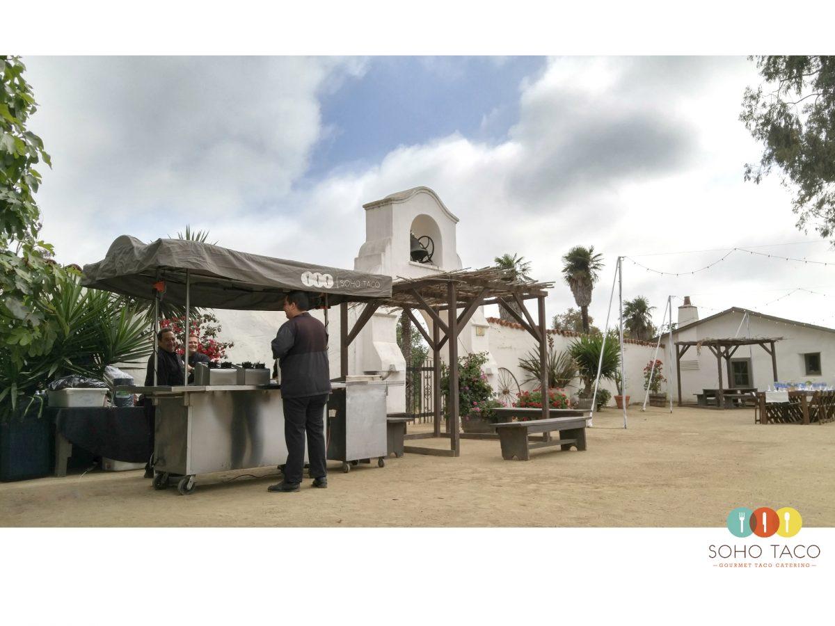SOHO TACO Gourmet Taco Catering - Olivas Adobe Historical Park - Wedding - Ventura CA