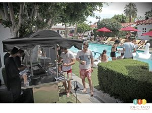 SOHO TACO Gourmet Taco Catering - Palm Springs - Wedding Reception