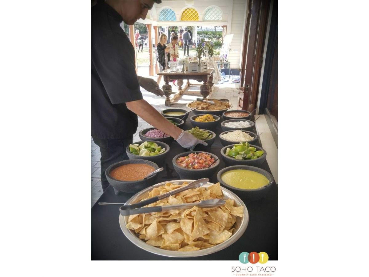 SOHO TACO Gourmet Taco Catering - Wedding - Newhall Mansion - Piru CA