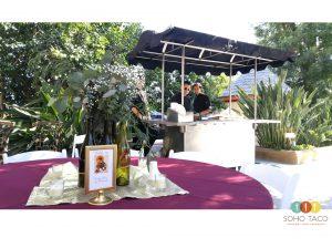 SOHO TACO Gourmet Taco Catering - Wedding - Newhall Mansion - Piru CA - Ventura County