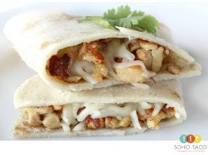 SOHO TACO Gourmet Taco Catering - Chicken Quesadilla - Pollo Asado - Orange County - OC
