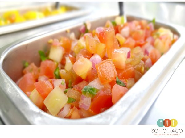 SOHO TACO Gourmet Taco Catering - Heirloom Tomato Pico de Gallo