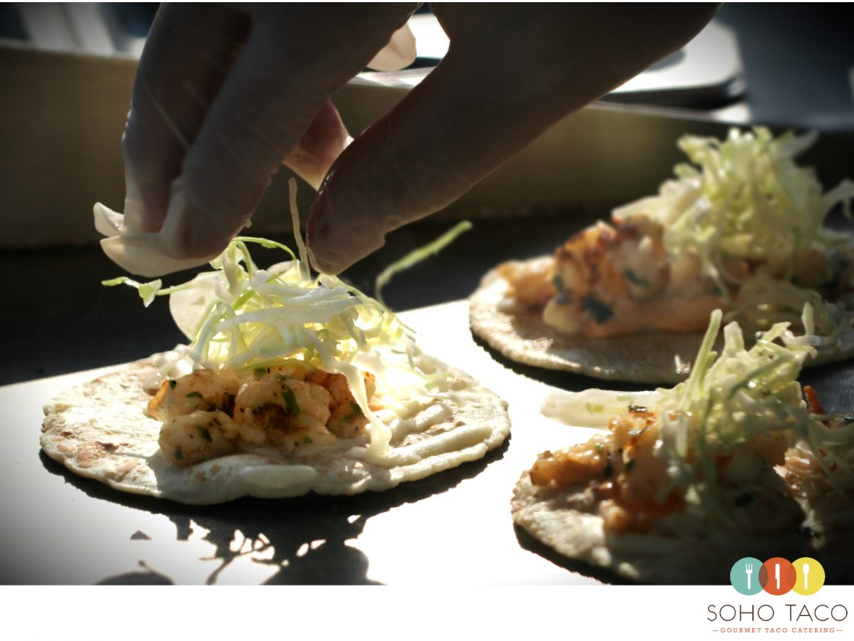 SOHO TACO Gourmet Taco Catering - Lobster Taco - Taco de Langosta - Los Angeles - Orange County
