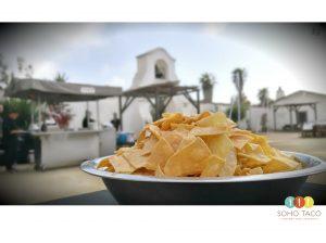 SOHO TACO Gourmet Taco Catering - Olivas Adobe Historical Park - Tortilla Chips