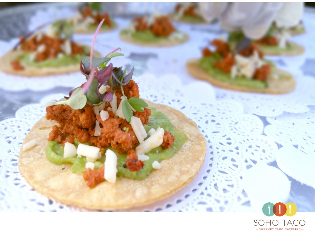 SOHO TACO Gourmet Taco Catering - Wedding - The Ruin - Yucca Valley - Appetizers