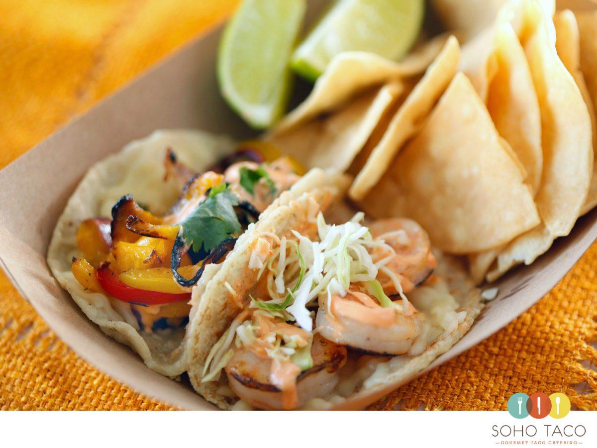 SOHO TACO Gourmet Taco Catering - Veggie and Shrimp Tacos - Orange County - OC