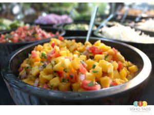 SOHO TACO Gourmet Taco Catering - Wedding - Del Mar - Mango Salsa - San Diego County