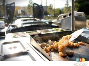SOHO TACO Gourmet Taco Catering - Essex Skyline - South Coast Metro - Camarones - Shrimp