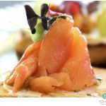 SOHO TACO Gourmet Taco Catering - Tostadita de Salmon Ahumado - Appetizers - Orange County - OC