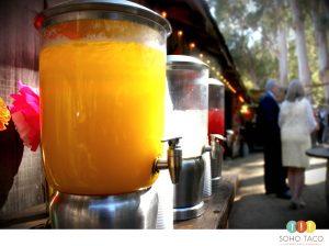 SOHO TACO Gourmet Taco Catering - La Cuesta Ranch - Wedding - Aguas Frescas