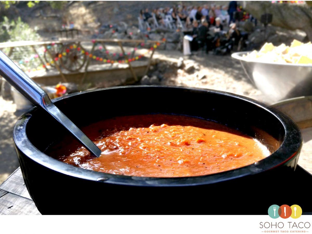 SOHO TACO Gourmet Taco Catering - La Cuesta Ranch - Wedding - San Luis Obispo - Salsa Roja