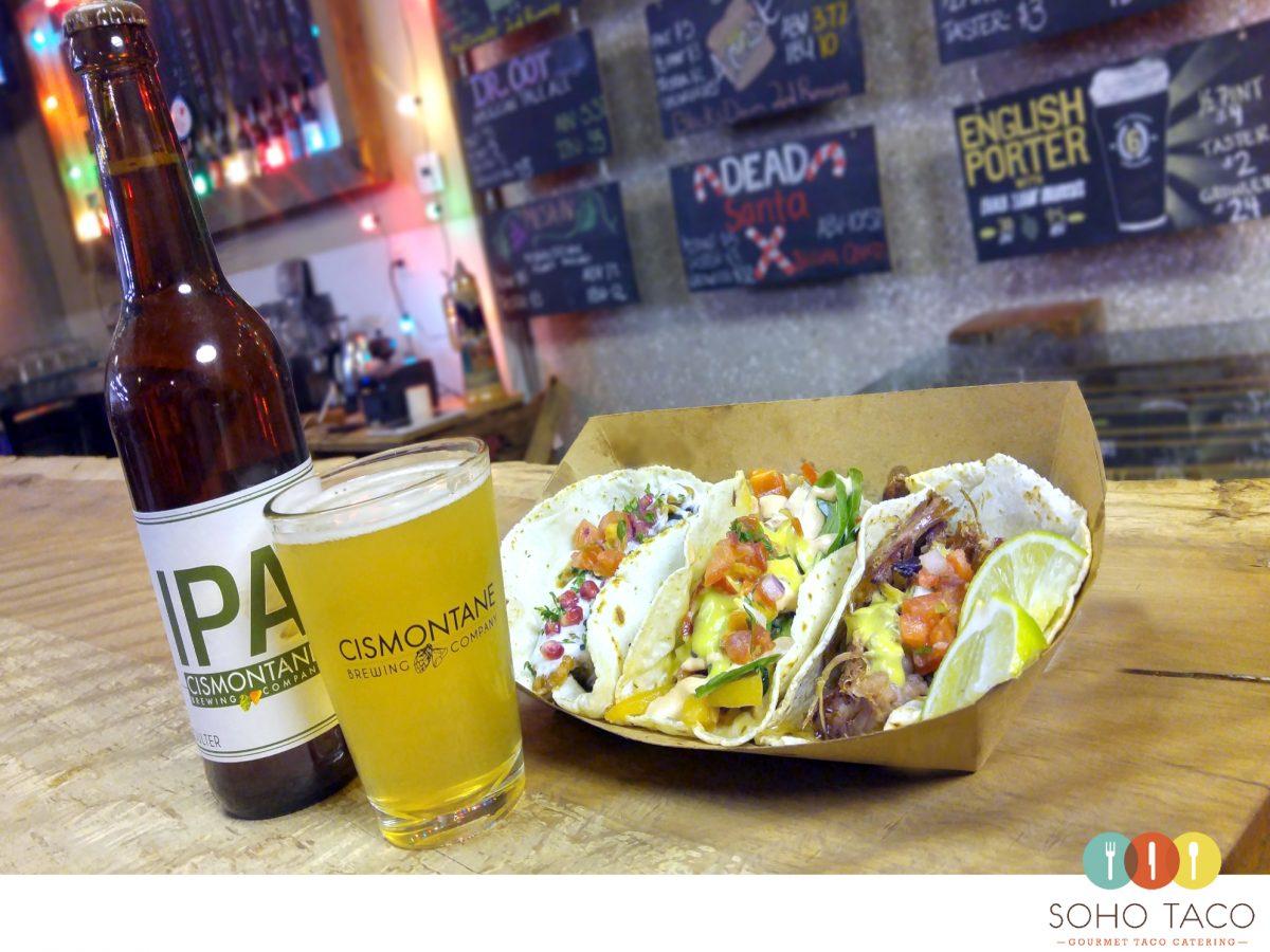 SOHO TACO Gourmet Taco Catering - Cismontane Brewery - Santa Ana - Orange County - OC